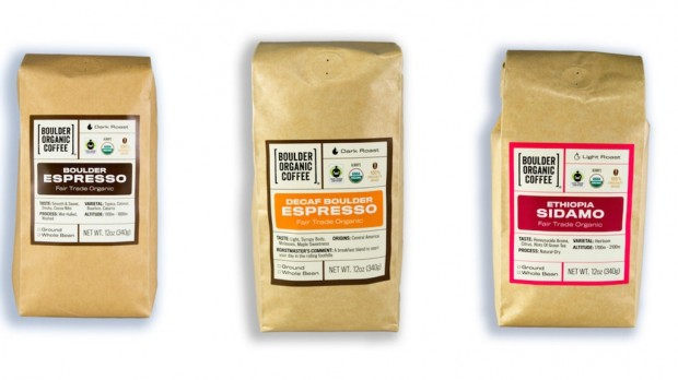 A Coffee-Forward Brand Refresh for Boulder Organic Coffee