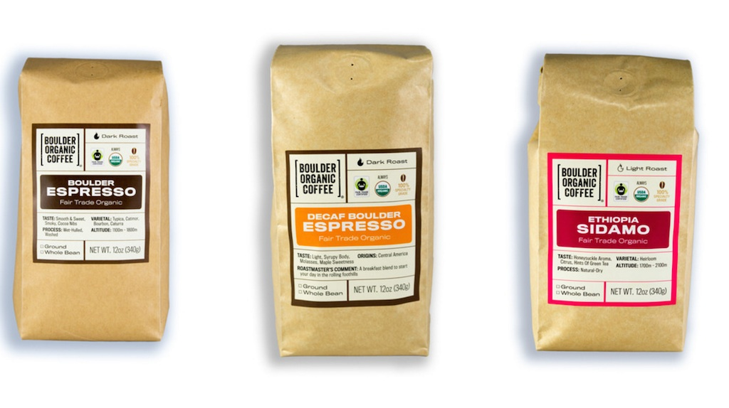 Espresso Coffee Brands ~ A coffee forward brand refresh for boulder organic