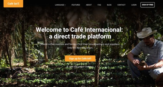 Green Trading Platform Café Internacional Introducing Spot Coffee in U.S.