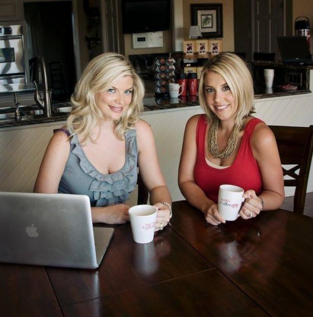 Sisters Ellie and Emmie of coffee.org.