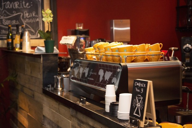 The Sanremo Opera currently atop the Infusion bar. Image courtesy of Infusion Coffee