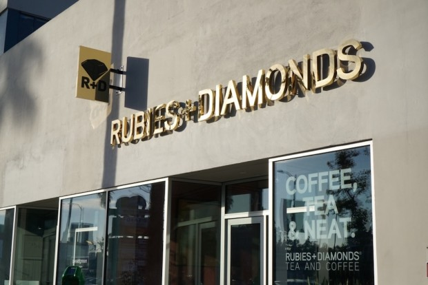 Photo courtesy of Rubies + Diamonds Coffee and Tea.