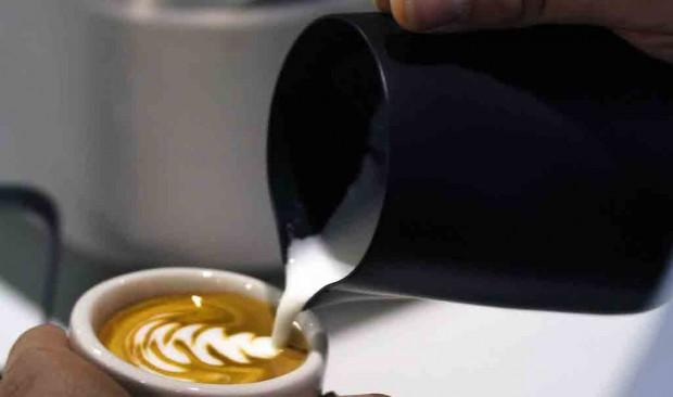 US Latte Art Championship photo.