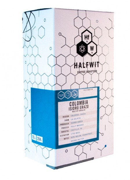 Halfwit Coffee Roasters limited edition series.