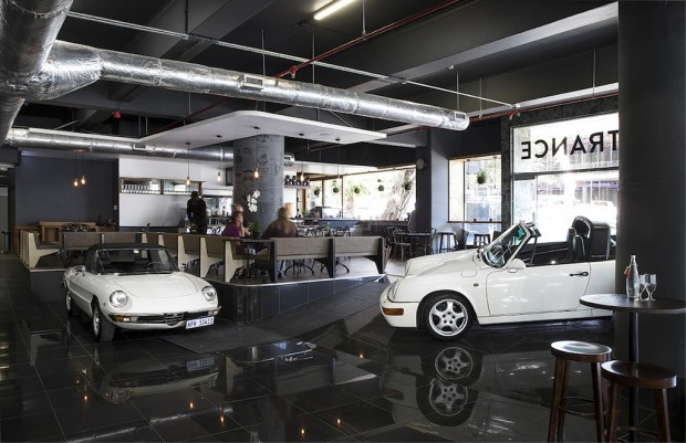 At Cape Town's Dapper Coffee, You Can Buy a Flat White and a Porsche