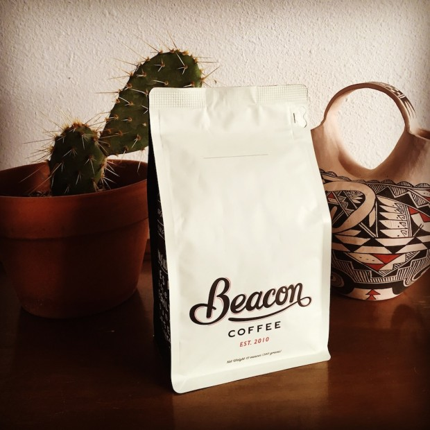 Bagged Beacon Coffee. All photos courtesy of Beacon Coffee.