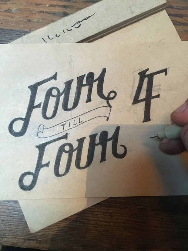 Fourtillfour branding work by Christian Watson of 1924us.