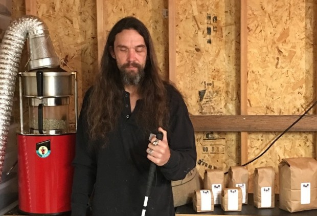 Idaho's Shaakwave Coffee Roasts By Sound, Smell and Heart