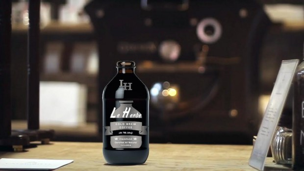 The Le Herbe cold brew coffee