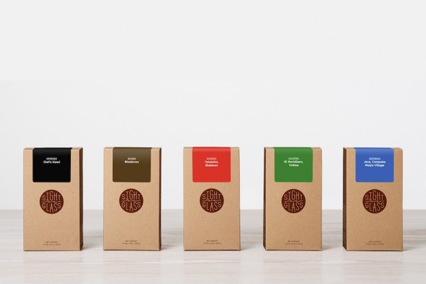Sightglass coffee boxes.