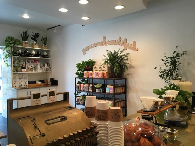Bow Truss Beverly Hills. Courtesy of Bow Truss Coffee Roasters.