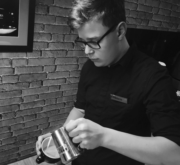 Profile Coffee's Ben Garnett Becomes Youngest Certified Barista