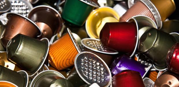 Used Nespresso capsules