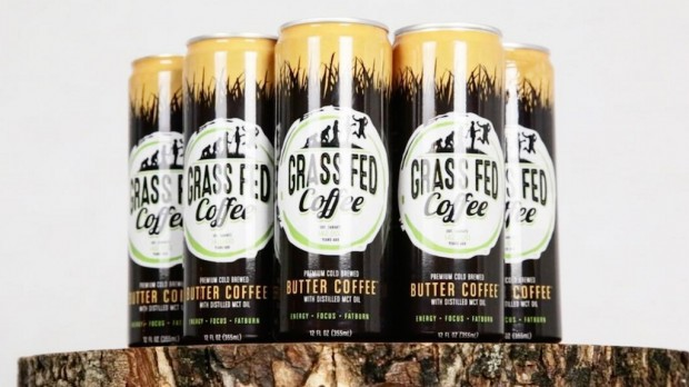 Butter Coffee Comes to Canned Conclusion in Grass Fed Coffee