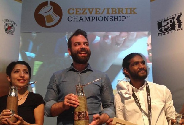Konstantinos Komninakis of Greece Wins World Cezve/Ibrik Championship