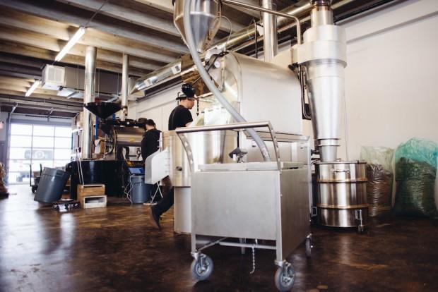 Blanchard's Coffee Roasting. Photo by Cameron Charles Lewis III.