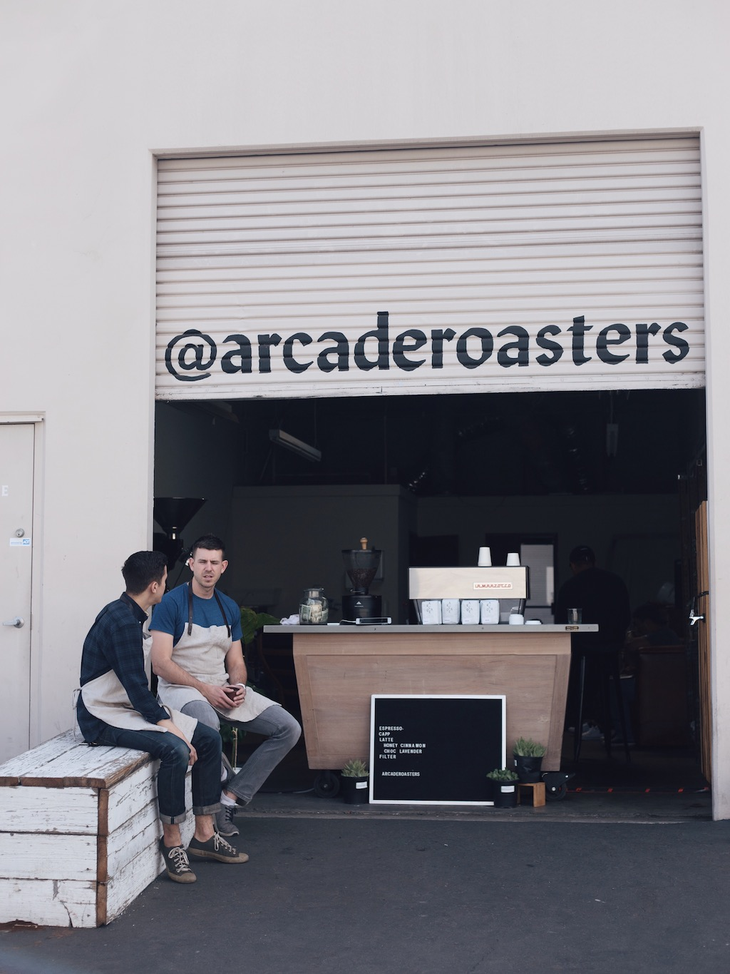 arcade coffee roasters riverside