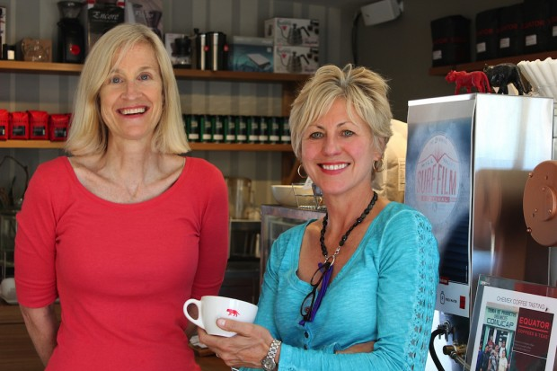 Brooke McDonnell and Helen Russell of Equator Coffees & Teas.