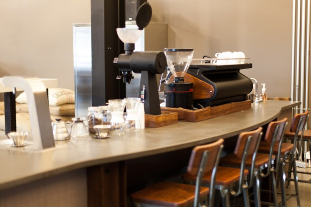 The Woods Coffee roaster cafe