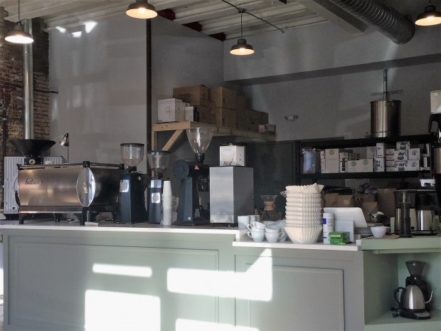 The bar at Duck-Rabbit