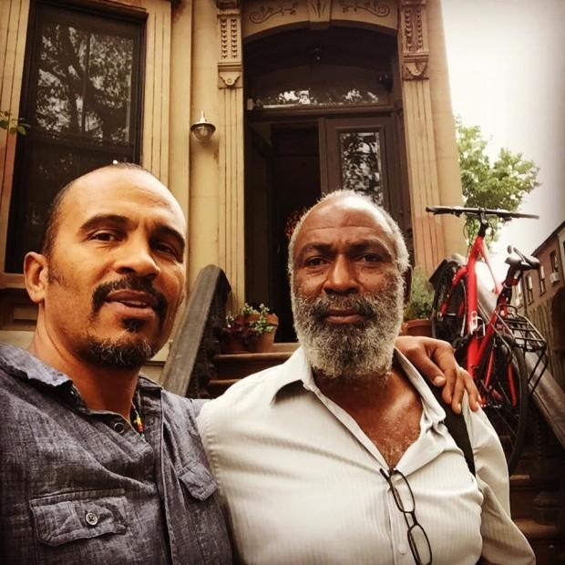 Keba Konte and David Robinson.