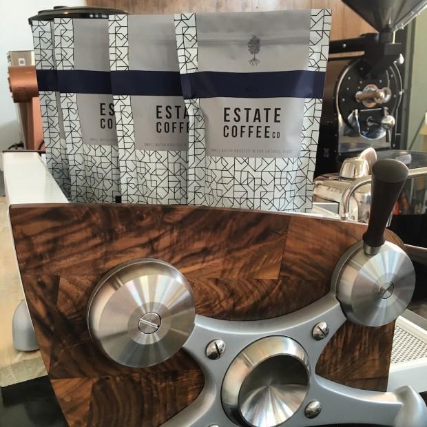 The Slayer machine at Estate Coffee. All photos courtesy of Estate Coffee.