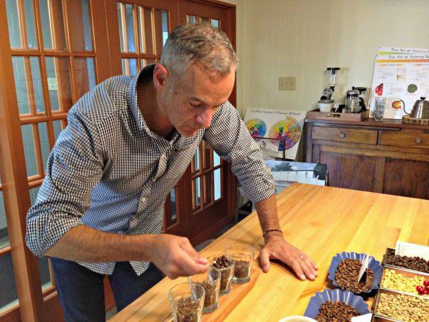 Owner and coffee guru Joe Riesen. Photo by Courtney Denning, courtesy of Winans.