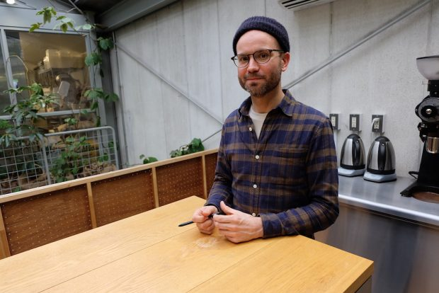 Tokyo Coffee Profiles: Kevin Thaxton of Blue Bottle Japan