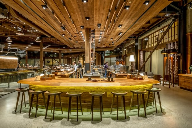 Starbucks Developing 'Bigger and Bolder' Reserve Roastery in New York