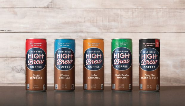 RTD Cold Brewer High Brew Coffee Inks $4 Million VC Investment