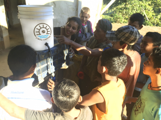 Libra Coffee Delivers Coffee to Coffee Drinkers and Water Filters to Coffee Growers