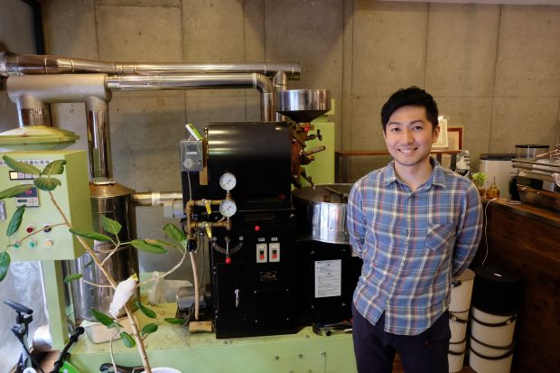 Amamerina Espresso owner Ishii Toshiaki. Photo by Eric Tessier for Daily Coffee News.