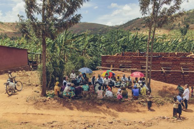 Community leaders and members of the Kula project on the ground in Kigali, Rwanda. All photos courtesy of Kula Project.