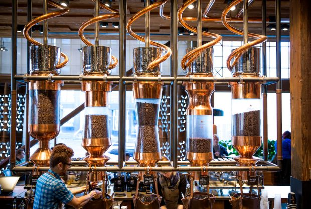 Starbucks Bringing Willy Wonka Theatrics to 30,000-Square-Foot Shanghai Facility