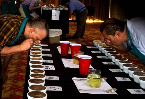 From the 2016 Costa Rica Cup of Excellence competition. Photo by the Alliance for Coffee Excellence.