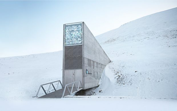 The Svalbard Global Seed Vault. Crop Trust photo.