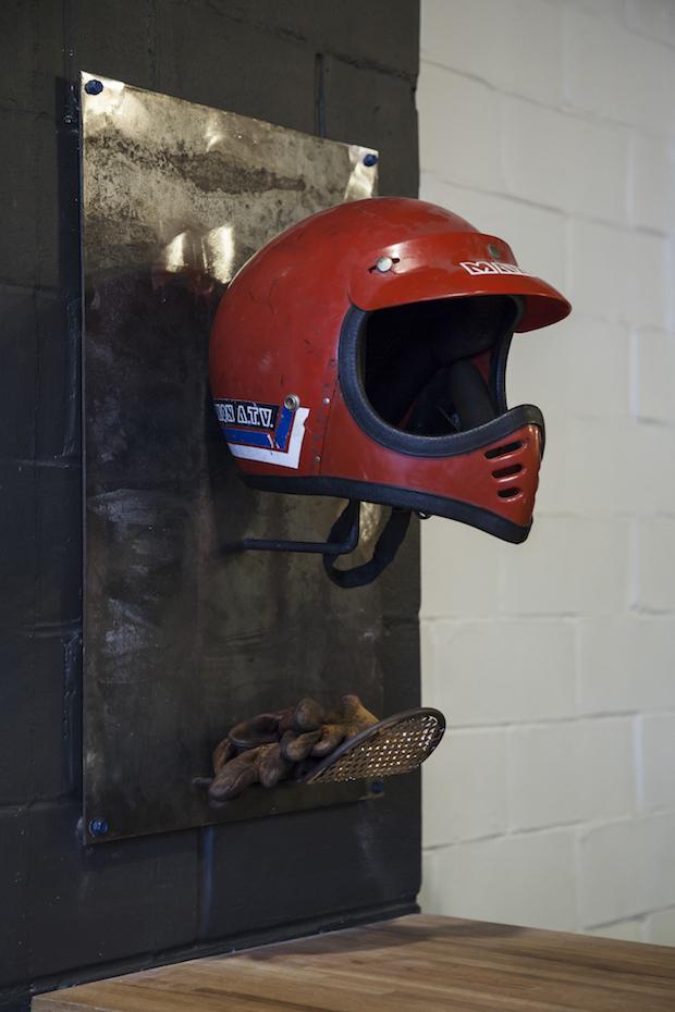 flat track helmet