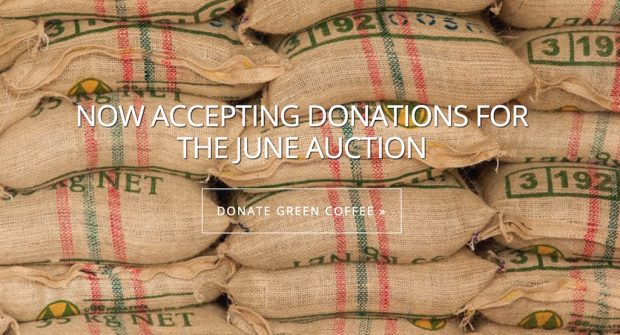 Final Donations Being Accepted for the Grounds for Health Green Coffee Auction