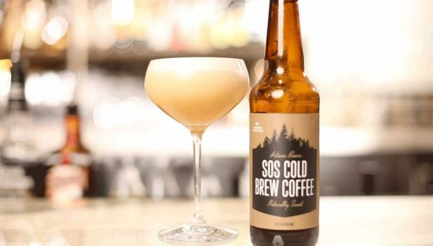 A SOS-based whiskey sour created in collaboration with mixologist Justin Taylor.