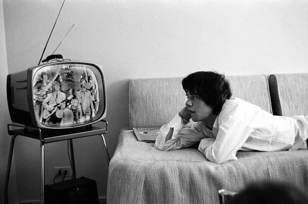 mick jagger television