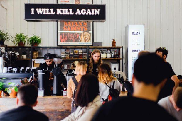 I Will Kill Again at Dark Arts. Photoby Gabi — @peanutbuttervibesphotography