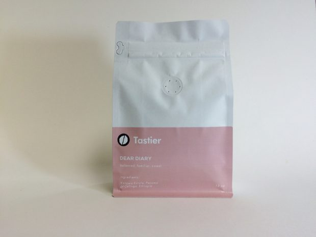 The Dear Diary blend from Tastier.