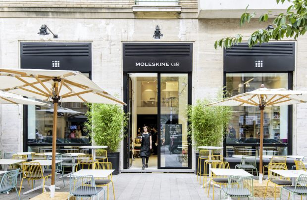 Moleskine Opens Upscale Café for the Creative Class in Milan