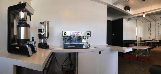 Bar Nine coffee at Amara