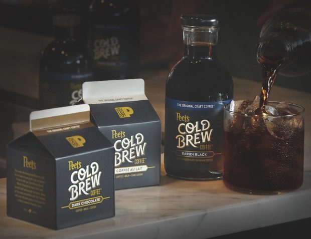 Peet's Joins the Cold Brew Arms Race with Three RTD Products