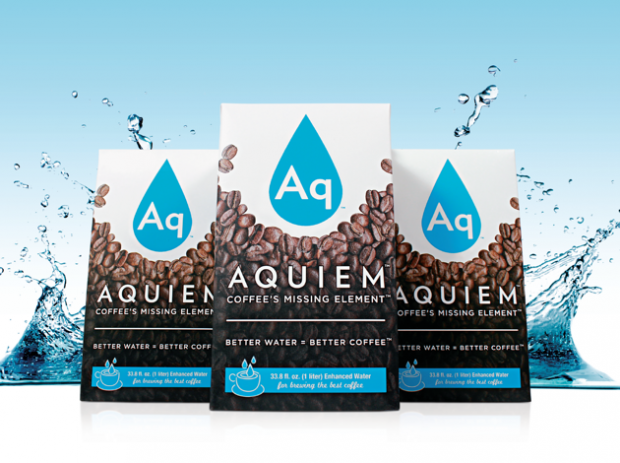 Aquiem is Literally Water for Coffee