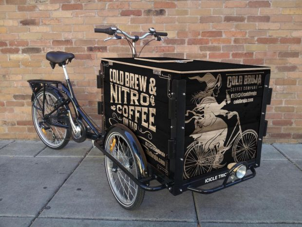 Broomsticks, Bikes and Bottles: Cold Bruja Rolling Out L.A.'s First(ish) Cold Brew Bike
