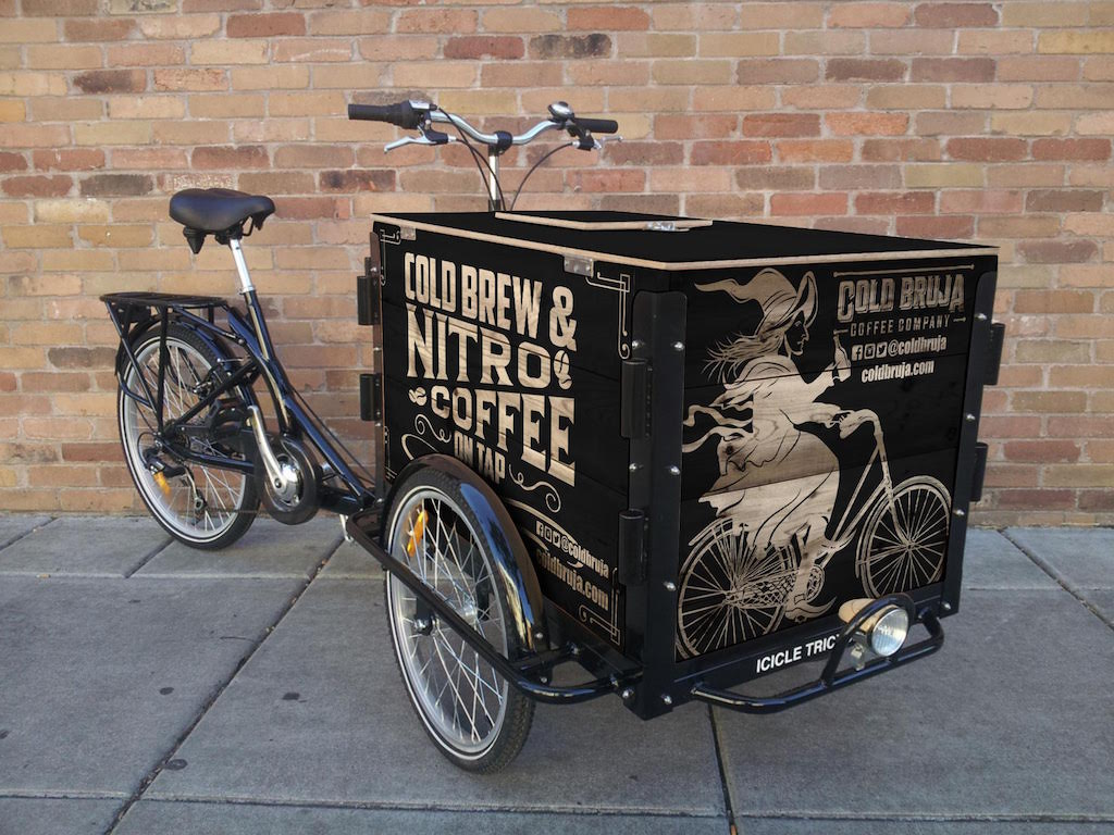 Broomsticks Bikes And Bottles Cold Bruja Rolling Out L A