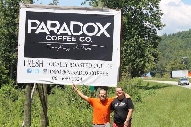 paradox coffee south carolina