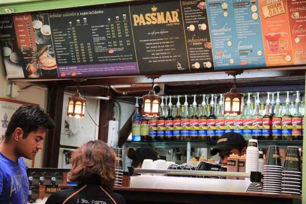 Cafe Passmar Mexico City